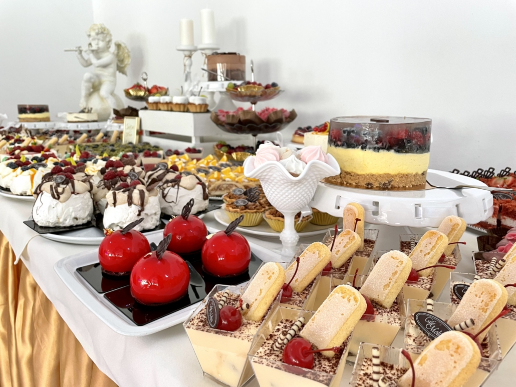 Weselny candy bar